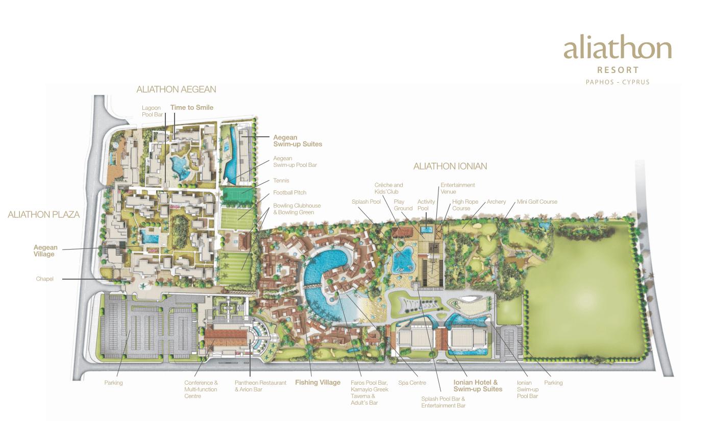 Location Maps Aliathon Resort